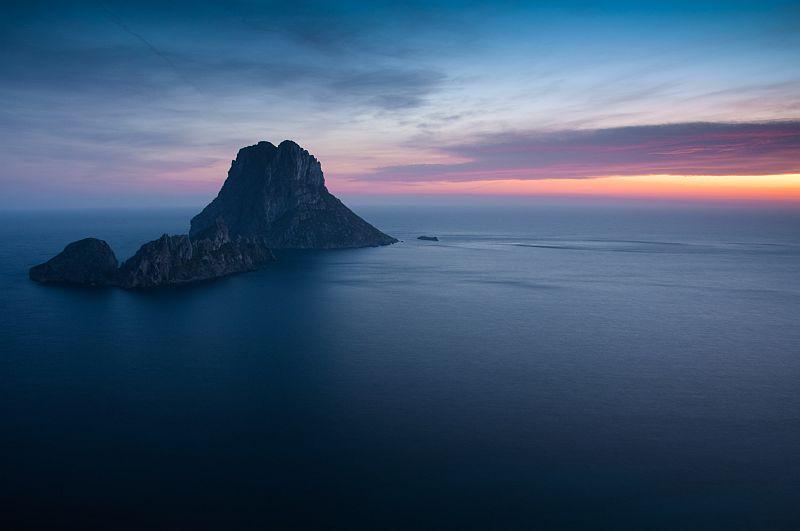 Vespre a Es Vedrà, Eivissa - Atardecer en Es Vedrà, Ibiza