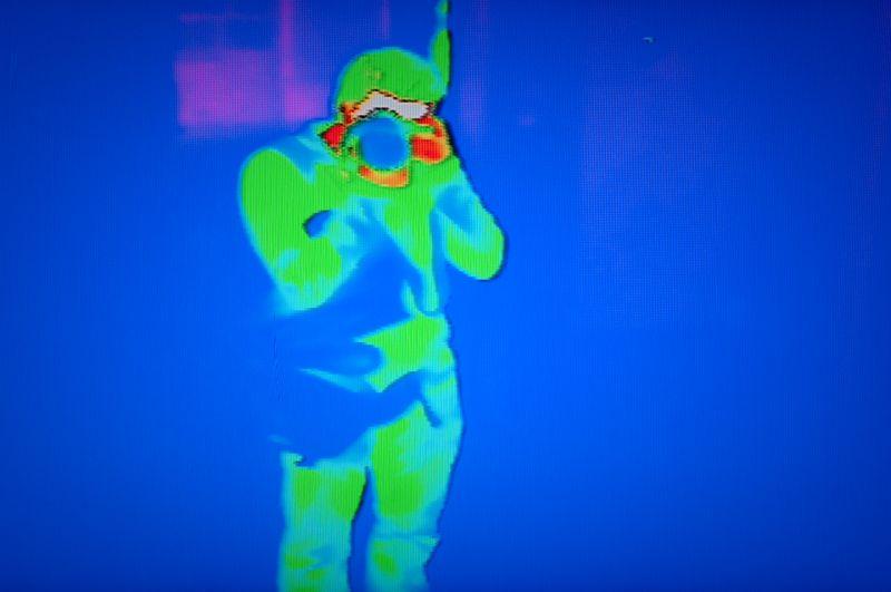 Autorretrat tèrmic, Camera Obscura, Edinburgh - Autorretrato térmico, Camera Obscura, Edinburgh