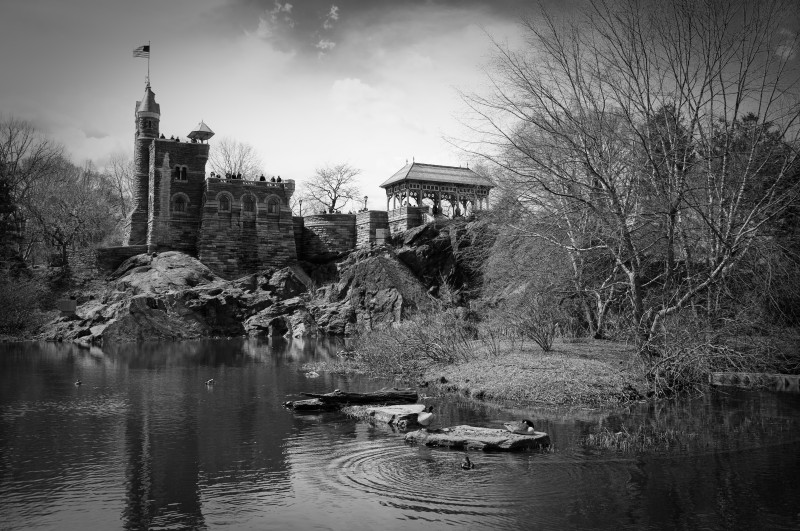 Belvedere Castle, Central Park, New York.