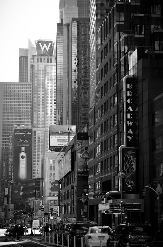 Broadway, New York.