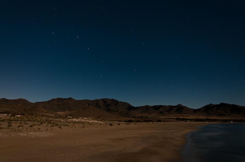 Playa de los Genoveses, parc natural del Cabo de Gata.