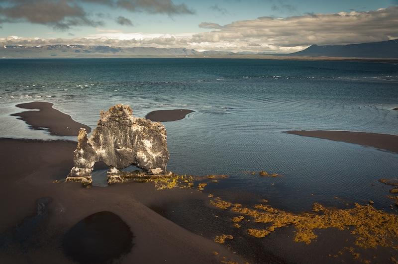 Hvitserkur, Islàndia.