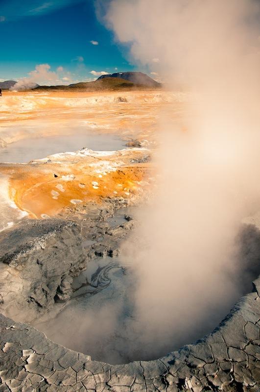 Hverir, Myvatn. Islàndia.