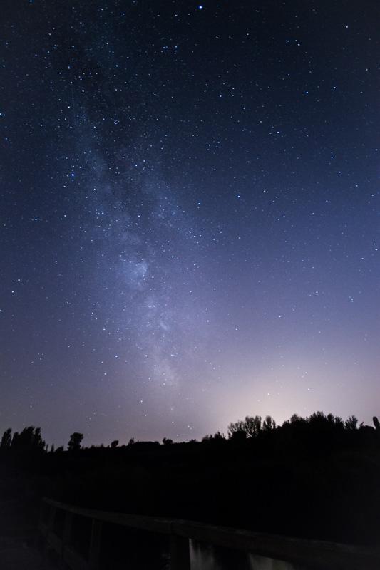 Via Làctia des d'Ivars - Via Láctea desde Ivars
